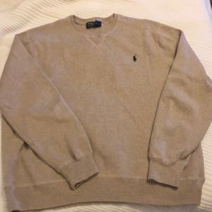 Men's polo sweater